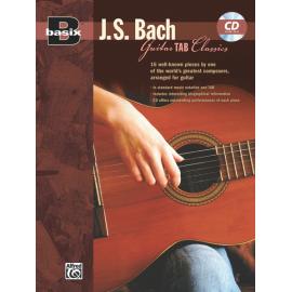 BASIX BACH FOR GUITAR + CD  22627