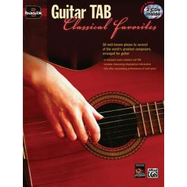 GUITAR TAB CLASSICAL FAVORITES + 2 CD  25794