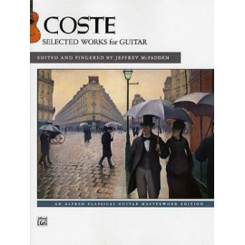 COSTE SELECTED WORKS FOR GUITAR  44460