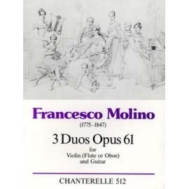 MOLINO 3 DUOS OPUS 61 ECH512