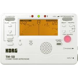 ACCORDEUR METRONOME KORG TM50 BLANC
