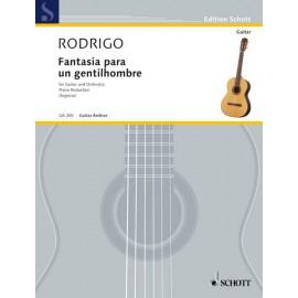 RODRIGO FANTAISIE POUR UN GENTILHOMME REDUC GA208