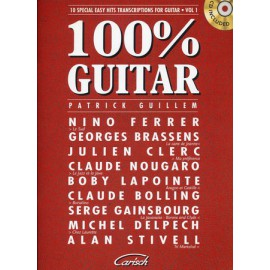 GUILLEM 100% GUITAR 1 MF1988 + CD