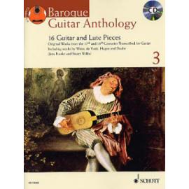 BAROQUE GUITAR ANTHOLOGY 3 + CD  ED13446