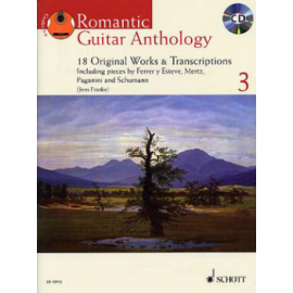 ROMANTIC GUITAR ANTHOLOGY 3 + CD  ED13112