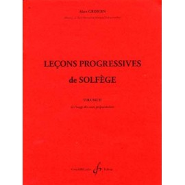 GRIMOIN LECONS PROGRESSIVES 2