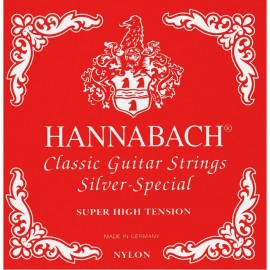HANNABACH SILVER ROUGE SUPER HIGH TENSION 4 RE 8154SHT
