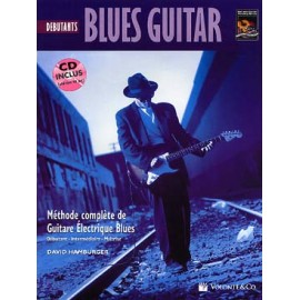 BLUES GUITAR DEBUTANTS HAMBURGER MB156 (PACK PARTITION+CD)