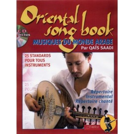 SAADI ORIENTAL SONGBOOK (PACK PARTITION + CD)