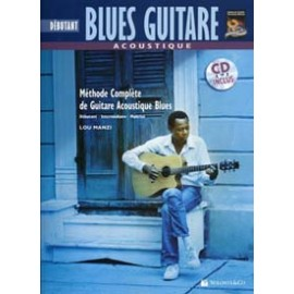 BLUES GUITARE ACOUSTIC DEBUTANT TABLATURES (PACK PARTITION+CD)