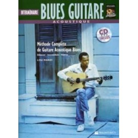 BLUES GUITARE ACOUSTIC INTERMEDIAIRE TABLATURES (PACK PARTITION+CD)