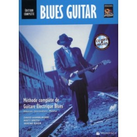 BLUES GUITARE METHODE EDITION COMPLETE MB291 (PACK PARTITION+CD)