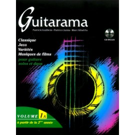 GUITARAMA 1A (PACK PARTITION+CD)