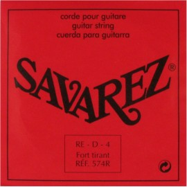 SAVAREZ CRISTAL ROUGE CORDE 4 RE 574R