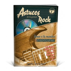 ROUX  ASTUCES ROCK (PACKE PARTITION+ CD) MF1996