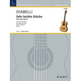 DIABELLI PIECES TRES FACILES 3 GA24