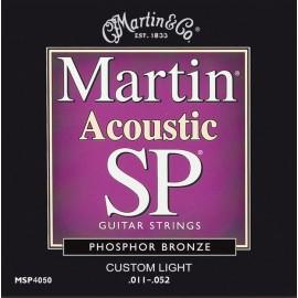MARTIN FOLK BRONZE CUSTOM LIGHT 11/52 JEU CMA175CL
