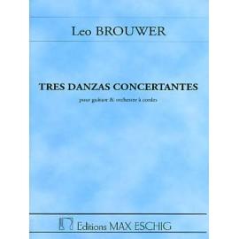 BROUWER TRES DANZAS CONCERTANTES ME8553