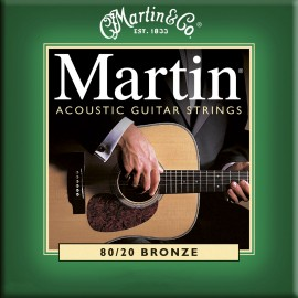 MARTIN BRONZE X-LIGHT 10/47 JEU M170