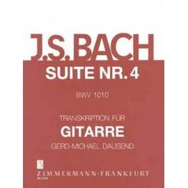 BACH SUITE VIOLONCELLE 4 BWV1010 DAUSEND ZM2734