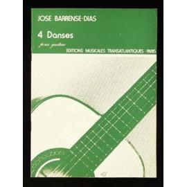 BARRENSE-DIAS 4 DANSES ETR1619