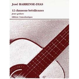 BARRENSE-DIAS 12 CHANSONS BRESILIENNES ETR1970
