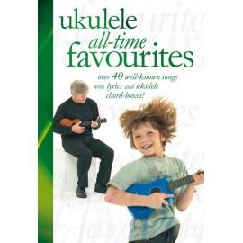 UKULELE ALL TIME FAVORITES 40 SONGS AM992233