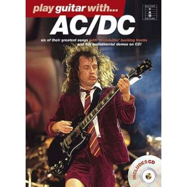 PLAY GUITAR WITH ACDC GREATEST SONGS +CD (PACK PARTITION + CD)