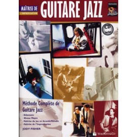 FISHER GUITARE JAZZ MAITRISE DE L'IMPROVISATION MB165 (PACK PARTITION + CD)
