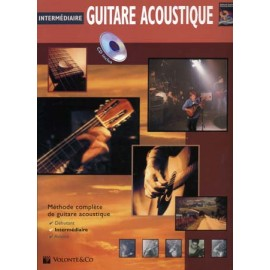 GUITARE ACOUSTIQUE 2 INTERMEDIAIRE HORNE + CD MB160 (PACK PARTITION+CD)