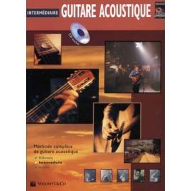 GUITARE ACOUSTIQUE 2 INTERMEDIAIRE HORNE + CD MB160 (PACK PARTITION+CD)