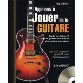 CAPONE APPRENDRE A JOUER DE LA GUITARE + CD