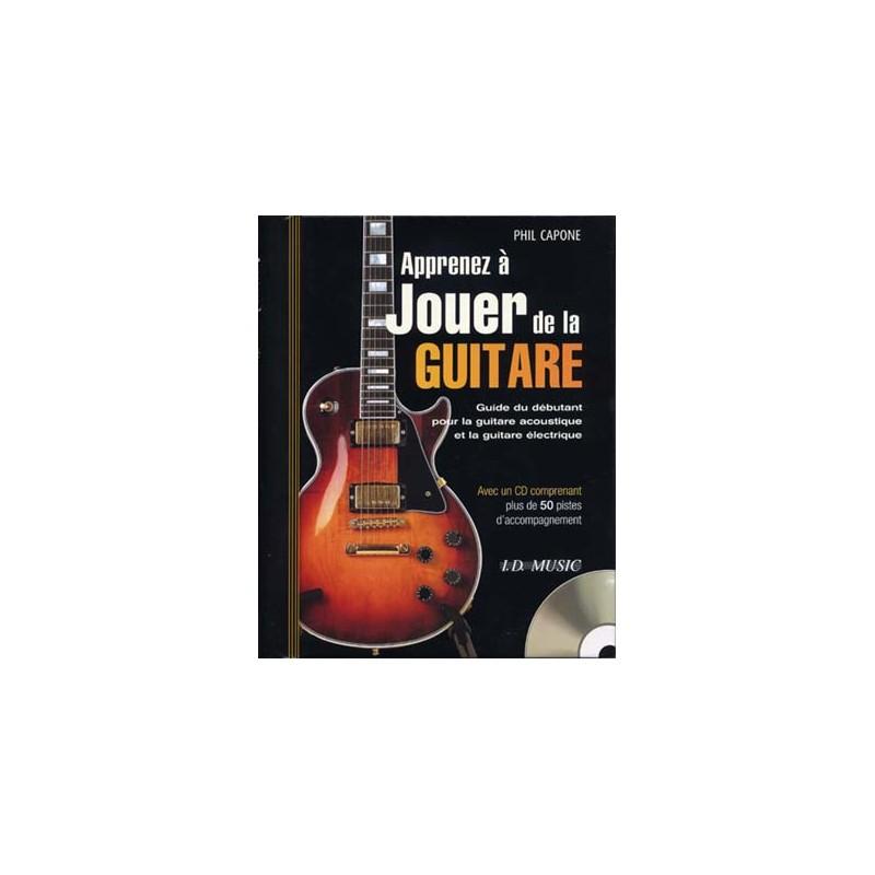 capone apprendre a jouer de la guitare cd l 39 atelier de la guitare. Black Bedroom Furniture Sets. Home Design Ideas