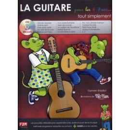 ROBILLOT LA GUITARE POUR LES 6/9 ANS F2M006 (PACK PARTITION+CD)