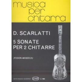 SCARLATTI 5 SONATES EMB7665