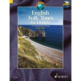 UKULELE ENGLISH FOLK TUNES 37 TRAD PIECES COLIN TRIBE