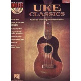UKE CLASSICS PLAY ALONG 2 HL00701452 (PACK PARTITION + CD)