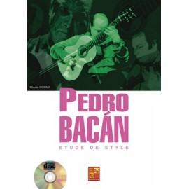 WORMS ETUDE DE STYLE PEDRO BACAN (PACK PARTITION+CD)