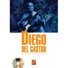 WORMS ETUDES DE STYLE DIEGO DEL GASTOR (PACK PARTITION+CD)