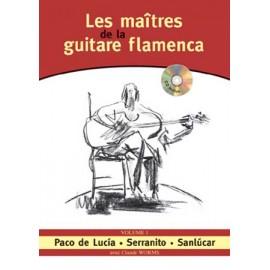 WORMS LES MAITRES DE LA GUITARE FLAMENCA 1 (PACK PARTITION+CD)