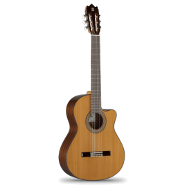 GUITARE ALHAMBRA 3C CTW E1 THIN BODY CEDRE