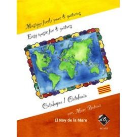 MUSIQUE FACILE 4 GUITARES CATALOGNE DZ1052