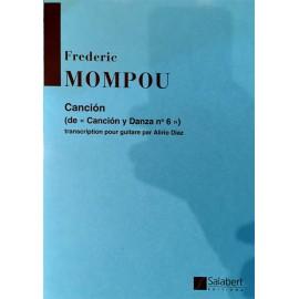 MOMPOU CANCION DE CANCION Y DANZA N°6 SLB4346