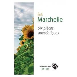 MARCHELIE 6 PIECES ANECDOTIQUES DZ1817