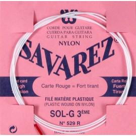 SAVAREZ FILE PLASTIQUE CORDE 3 SOL 529R