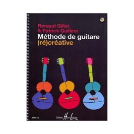 GILLET / GUILLEM METHODE RECREATIVE DE GUITARE (PACK PARTITION CD)