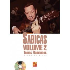 WORMS ETUDE DE STYLE SABICAS 2 + CD (PARTITION+CD)