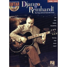 REINHARDT GUITARE PLAY ALONG VOL 144 HL702531 (PACK PARTITION+CD)