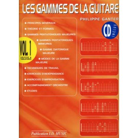 GAMMES GUITARE VOL 1 (PACK PARTITION+CD)