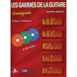 GAMMES GUITARE L'INTEGRALE (PACK PARTITION+CD)